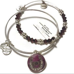 Alex and Ani Fortune's Favor Bracelet Duo